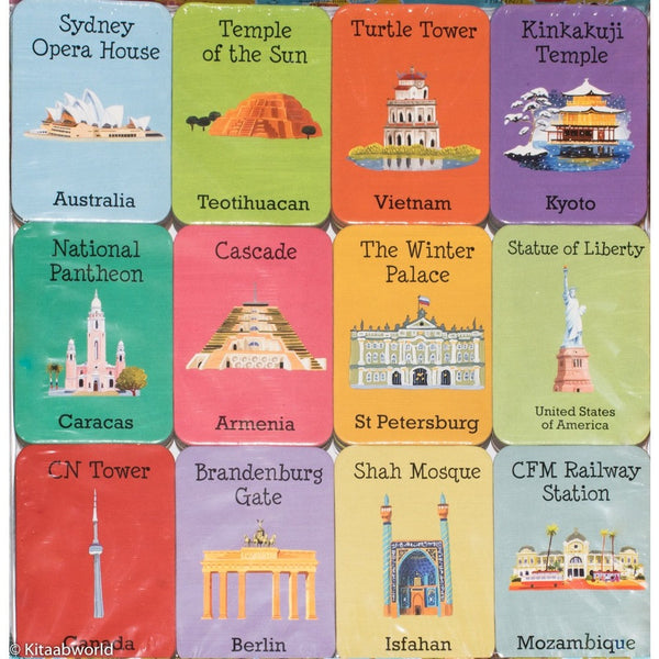 Cities of the World Memory Game - KitaabWorld