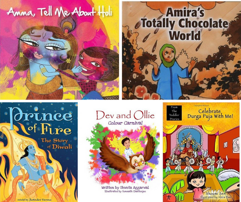 Festivals of South Asia Book Bundle (Elementary School) - KitaabWorld
