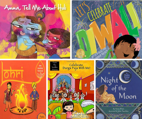 Festivals of South Asia Book Bundle (Preschool) - KitaabWorld