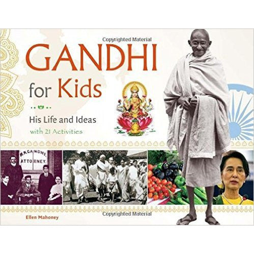 Gandhi for Kids: His Life and Ideas, with 21 activities (For Kids series) - KitaabWorld - 1