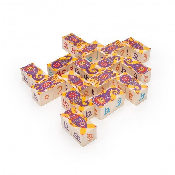 Hindi Alphabet Blocks - KitaabWorld