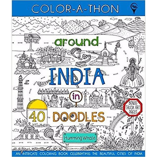 Around India in 40 Doodles - KitaabWorld