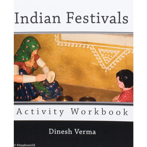 Indian Festivals Activity Workbook - KitaabWorld