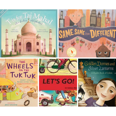 Introduction to South Asia Book Bundle (Preschool) - KitaabWorld