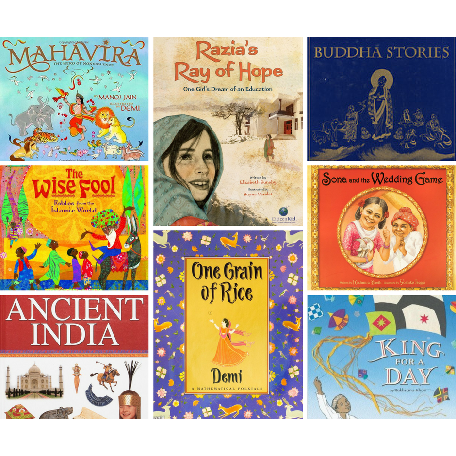 Introduction to South Asia Book Bundle (Elementary School)