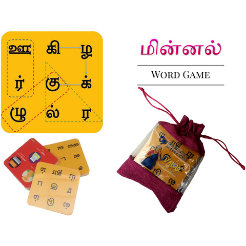 Minnal (word game) - KitaabWorld