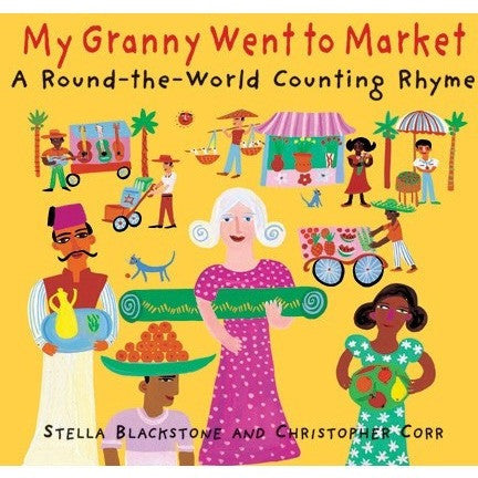 My Granny Went to Market - A Round-the-World Counting Rhyme - KitaabWorld