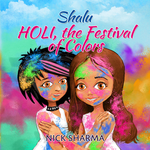 Shalu, Holi Festival of Colors - KitaabWorld