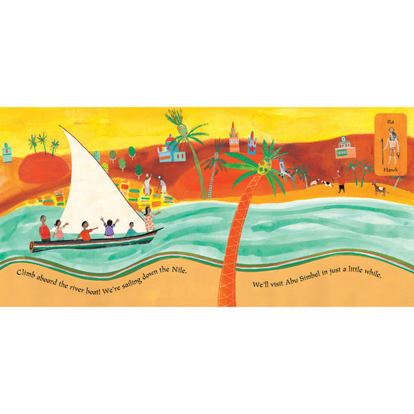 We're Sailing Down the Nile - A Journey Through Egypt - KitaabWorld