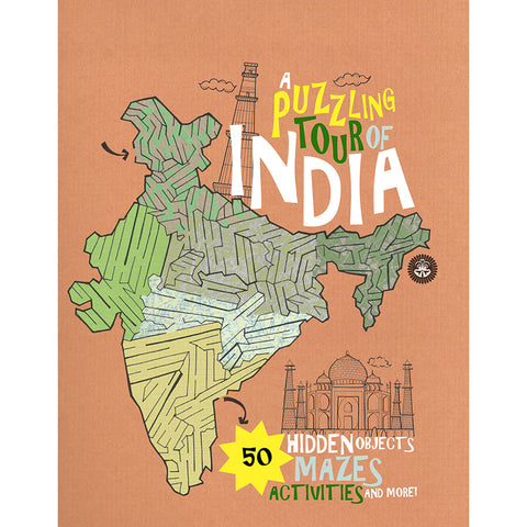 A Puzzling Tour of India - KitaabWorld