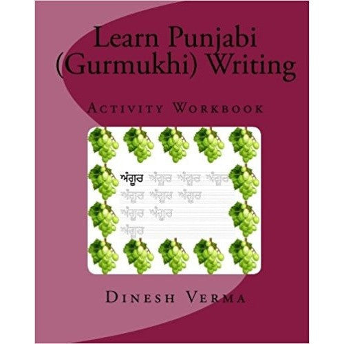 Learn Punjabi (Gurmukhi) Writing Activity Workbook