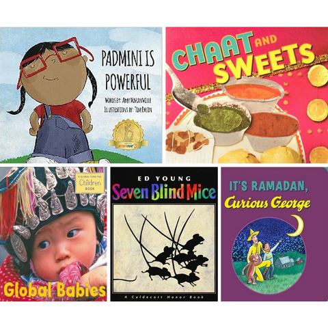 South Asia Board Book Bundle (Preschool) - KitaabWorld
