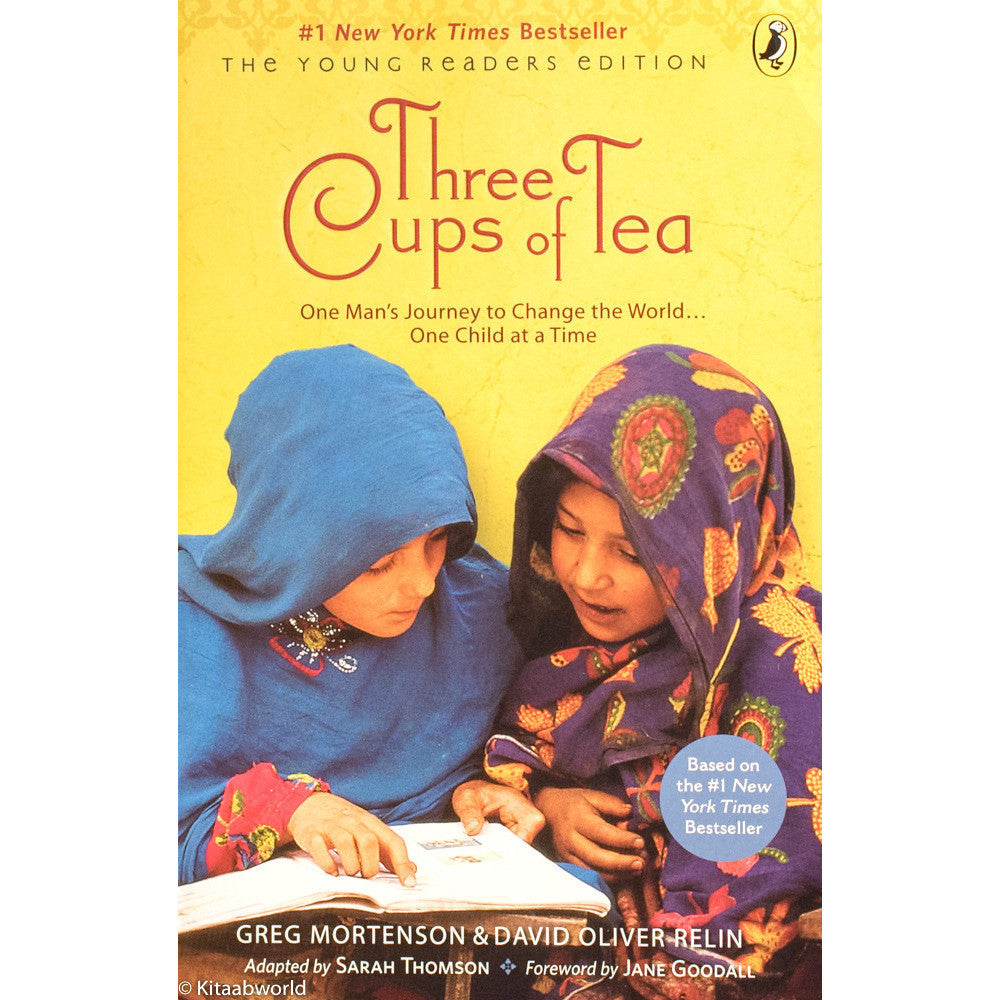 Three Cups of Tea: One Man's Journey to Change the World... One Child at a Time (Young Reader's) - KitaabWorld