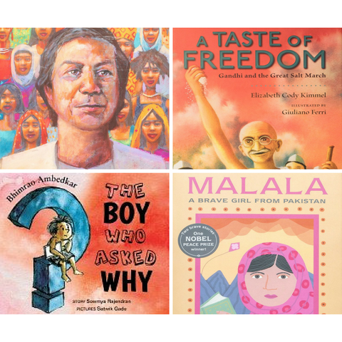 Visionaries of South Asia Book Bundle (Elementary School)