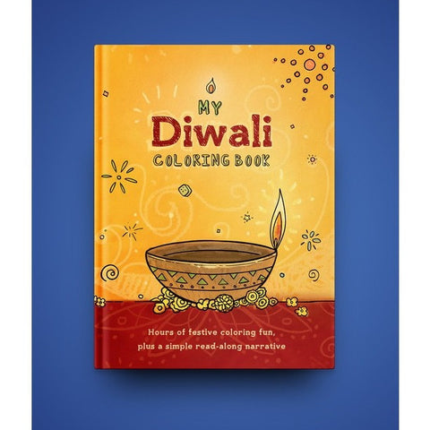 My Diwali Coloring Book - KitaabWorld