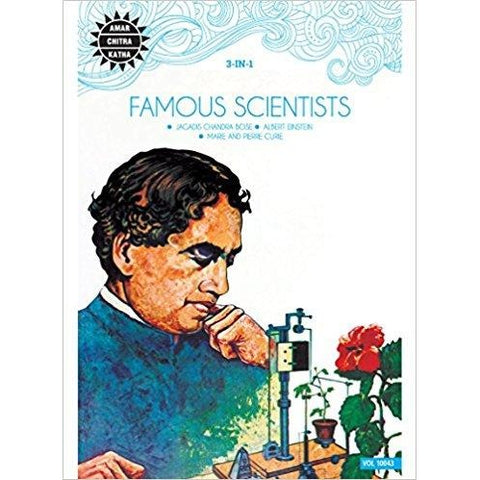 Famous Scientists (3 in 1 series, Amar Chitra Katha)