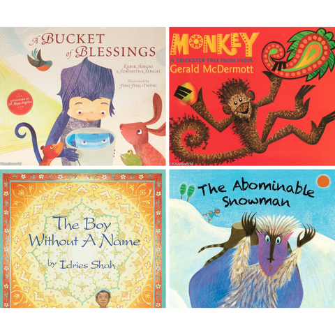 Folk Tales of South Asia Book Bundle (Elementary School) - KitaabWorld