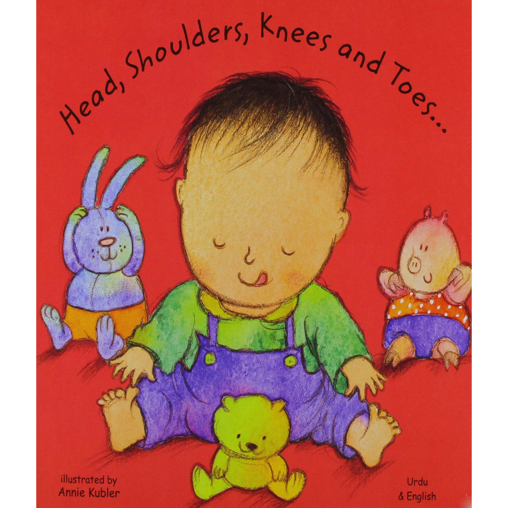 Head, Shoulders, Knees and Toes (English-Urdu) - KitaabWorld