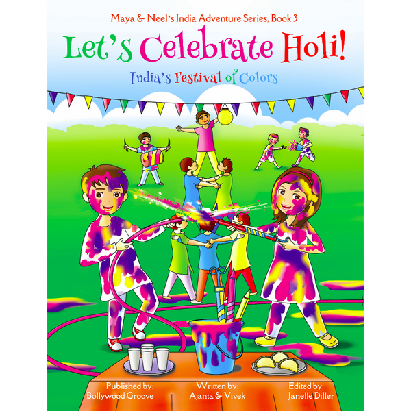 Let's Celebrate Holi - KitaabWorld