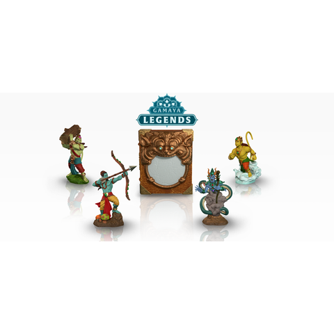 Gamaya Legends - Four Toy Pack - KitaabWorld