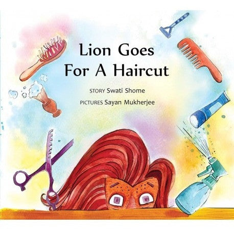 Lion Goes For A Haircut - KitaabWorld - 1