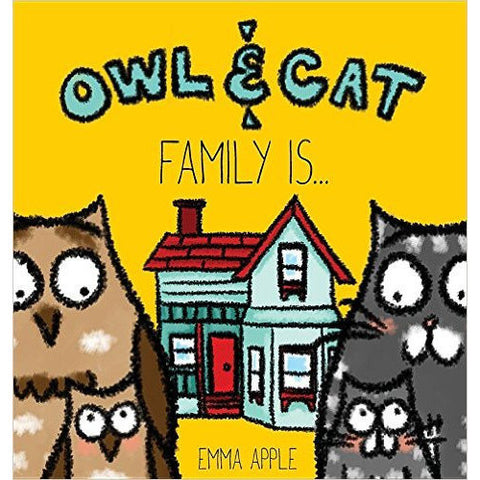 Owl and Cat: Family Is.. - KitaabWorld - 1