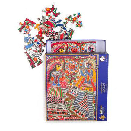 Madan- 60 Piece Puzzle - KitaabWorld