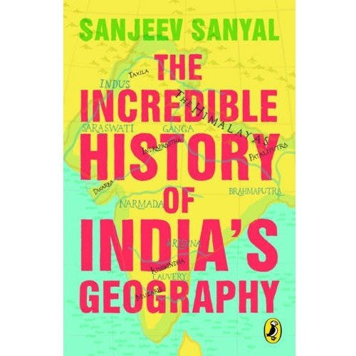 The Incredible History of India's Geography - KitaabWorld