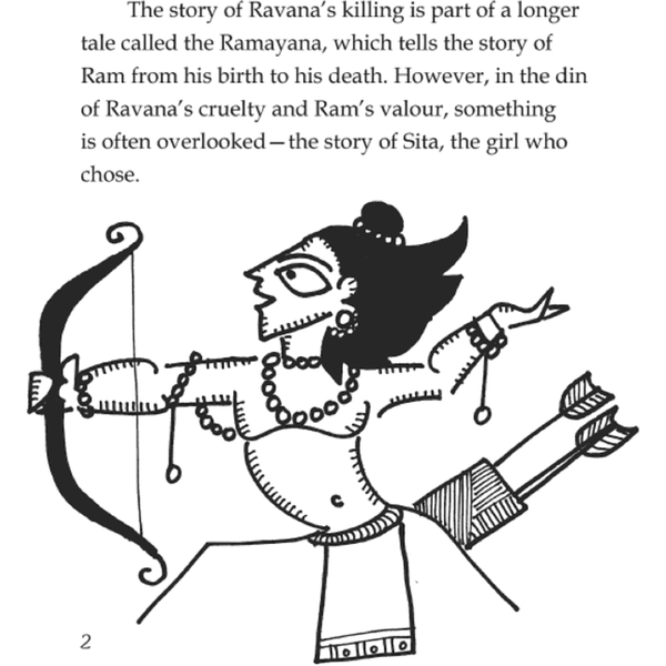The Girl Who Chose: A New Way of Narrating the Ramayana