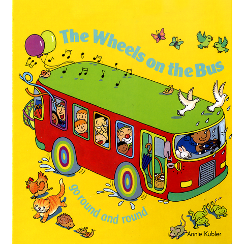 The Wheels on the Bus (English-Urdu) - KitaabWorld
