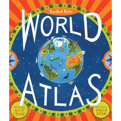 Barefoot Books World Atlas - KitaabWorld