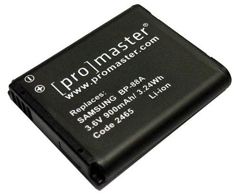 ProMaster BP-88A Battery - Replacement  for Samsung BP-88A