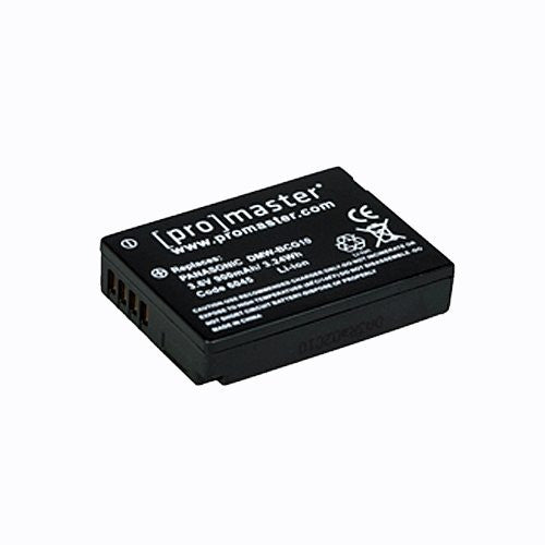 Promaster DMW-BCG10 Battery - Replacement for Panasonic DMW-BCG10