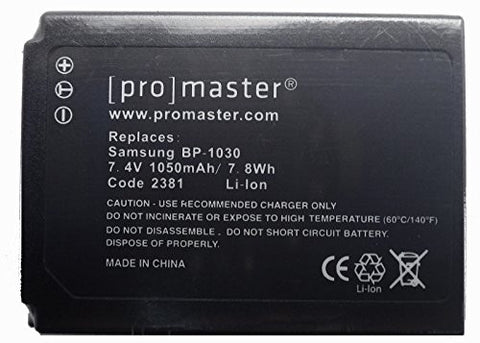 Promaster BP-1030 Battery - Replacement for Samsung BP-1030