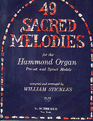 "Hammond Organ Music Book "" 49 Sacred Melodies """