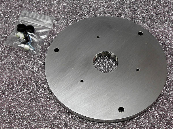 Driver adapter plate for Leslie Speaker