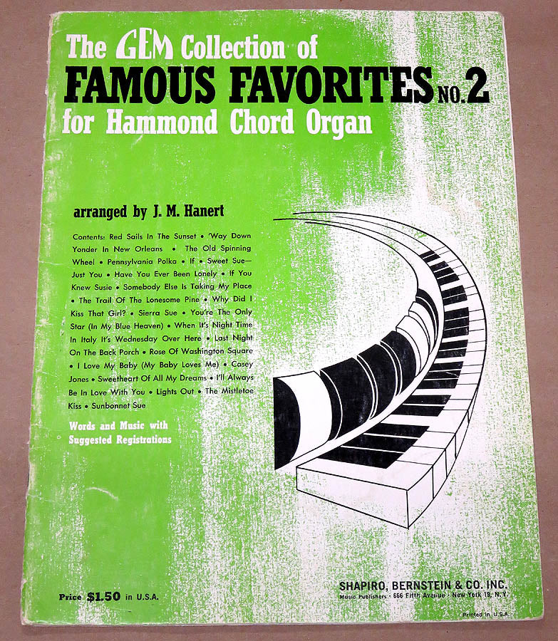 Famous Favorites for the Hammond Organ #2
