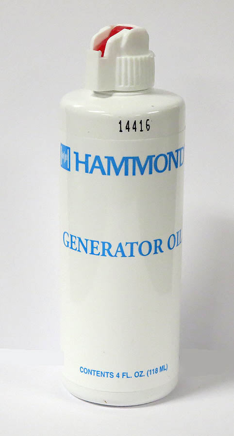 Hammond Organ Generator Oil