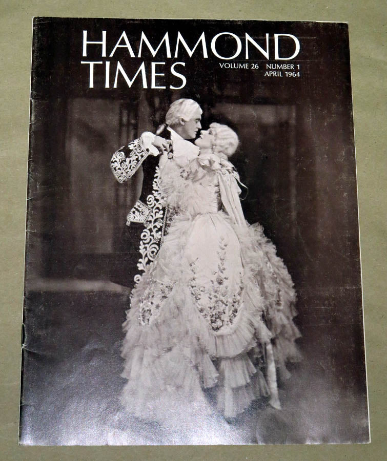 Hammond Times April 1964 vol 26 no 1