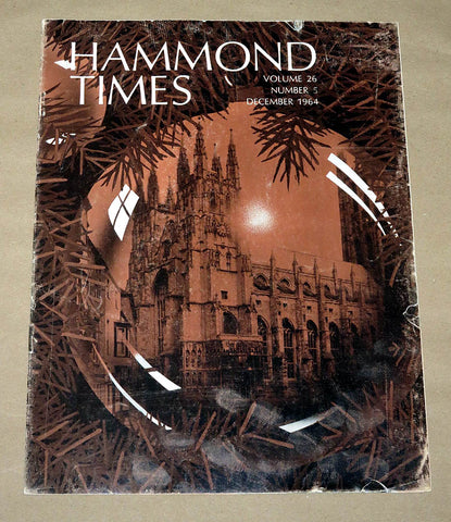 Hammond Times December 1964 vol 26 no 5
