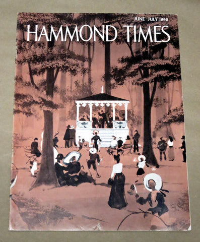 Hammond Times June - July 1966