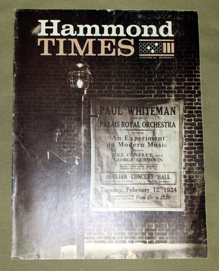 Hammond Times February 1964 vol 25 no 6
