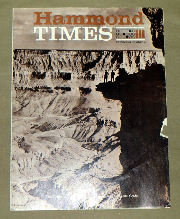 Hammond Times August 1963 vol 25 no 3