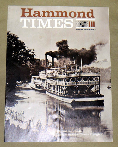 Hammond Times June 1963 vol 25 no 2