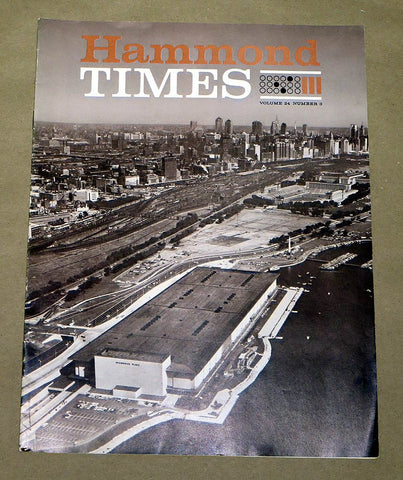 Hammond Times October 1962 vol 24 no 3