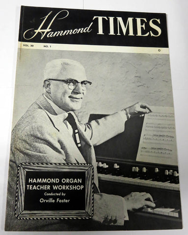 Hammond Times Vol 20 no 1