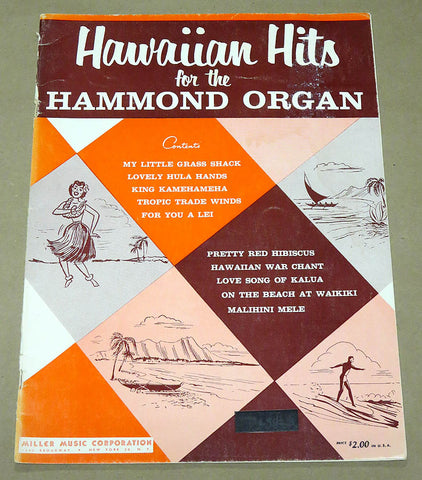 Hawaiian Hits for the Hammond Organ
