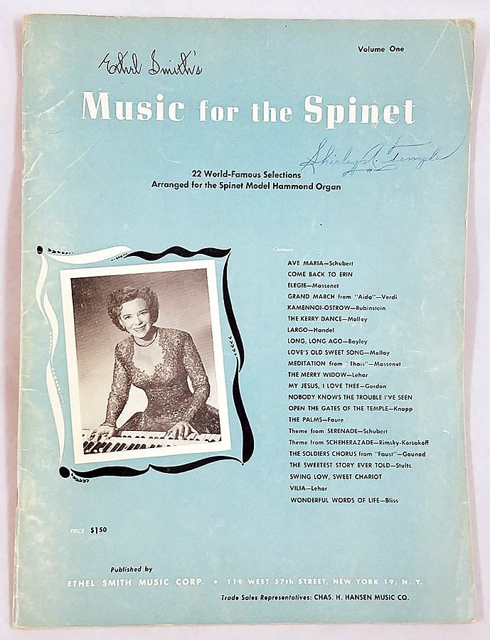 Music for the Spinet (Ethel Smith's)