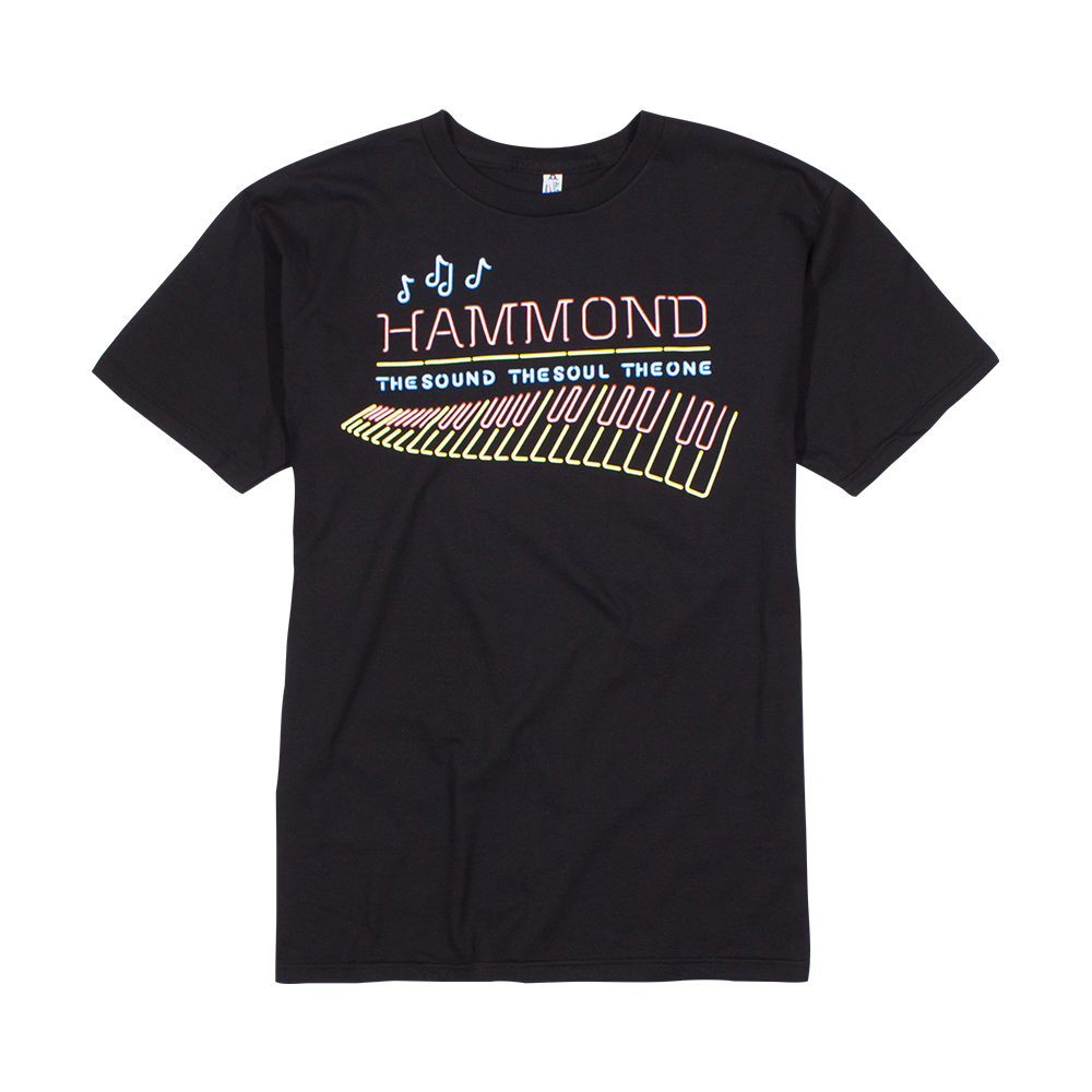 Hammond Organ Neon T Shirt