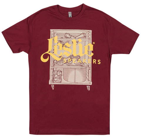Leslie Speaker Gold and Red T-Shirt
